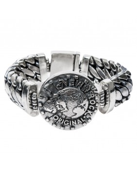 Braccialetto in argento per donna New Rock M.BRACELET4-C2