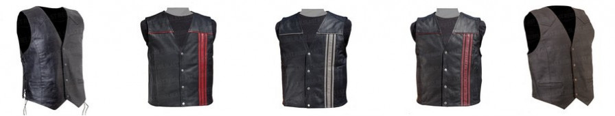 Men's sleeveless jackets